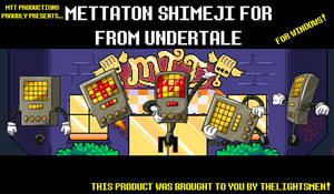 Mettaton Shimeji from Undertale