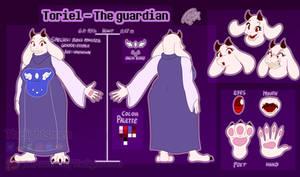 Toriel character sheet