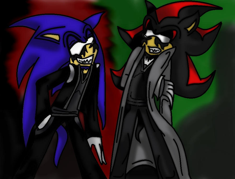 Sonic et shadow demons by 26krazypersonlol62 on deviantart - Sonic et shadow ...