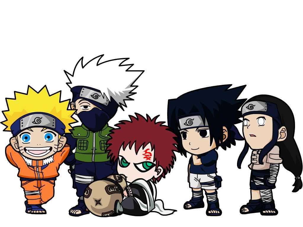 Draw Chibi Naruto Characters