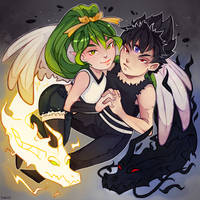Commission: Chibi :SoulOfPersephone: by Yukich-Hero