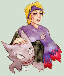 Morty and Haunter