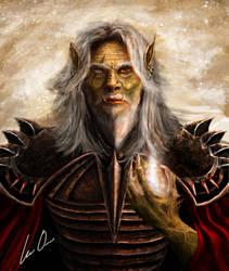 Orc Warlock by lee-orr