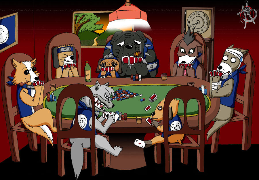 Poker Dog by BrianHidan