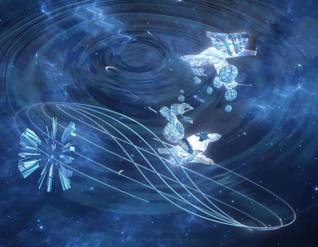 The Warped Space by SpartanNinja