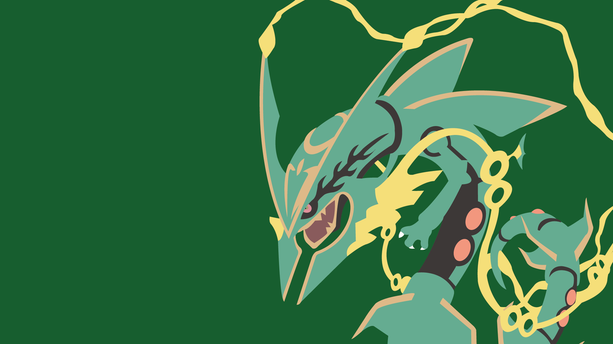 emerald rayquaza wallpapers - photo #9