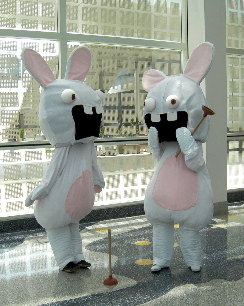 rayman raving rabbids by limitlessedge - Raving Rabbids Halloween Costume
