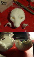 W.I.P: Firefox and snowfox BJD - not again by PuppitProductions