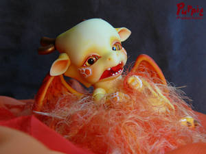 Commission: Aileendoll Shy full blush - nesting