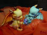 Commission: Dragon parents by PuppitProductions