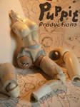 Snowfox and Firefox BJD WIP: Jointwork by PuppitProductions