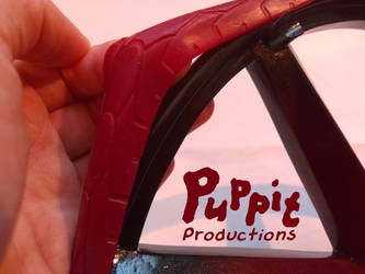 BJD wheelchair WIP: Teaser red tires by PuppitProductions