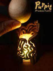 Commission: Zelda spirit orb holder (demo)