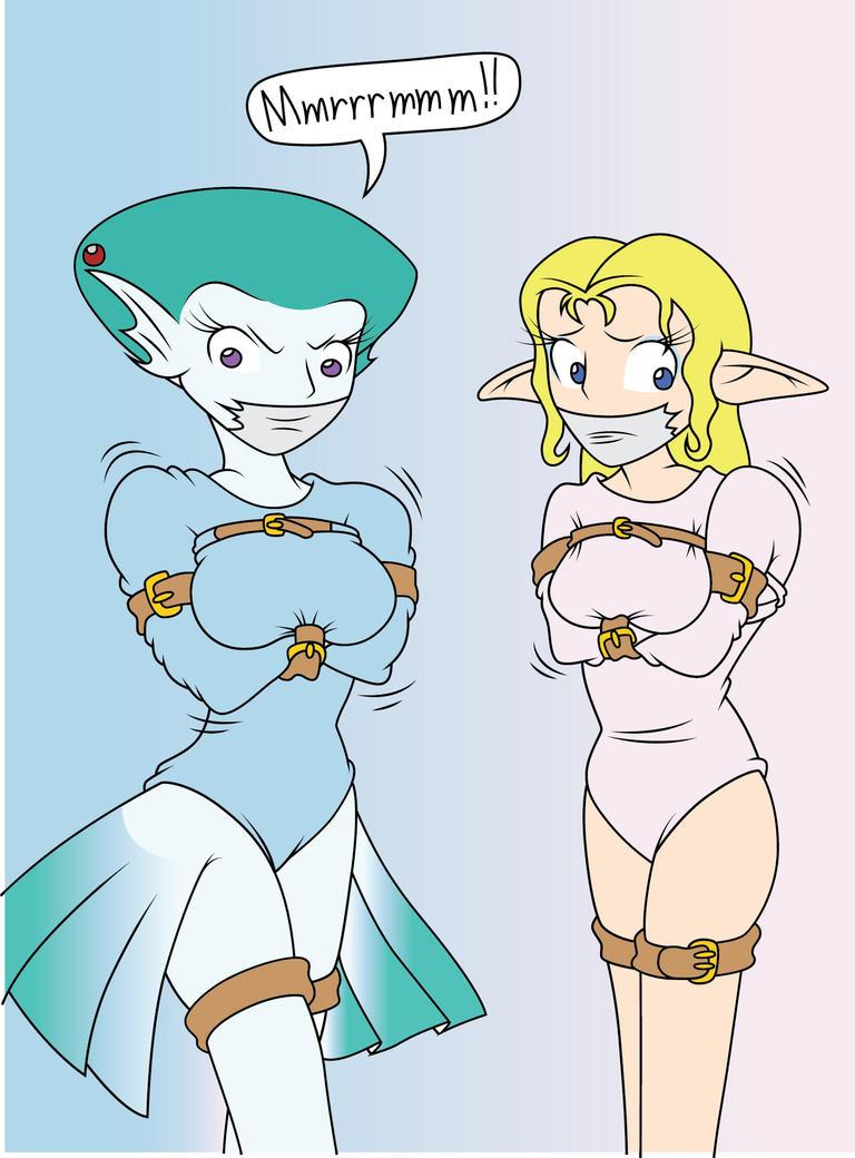 Zelda And Ruto By Brayburnman