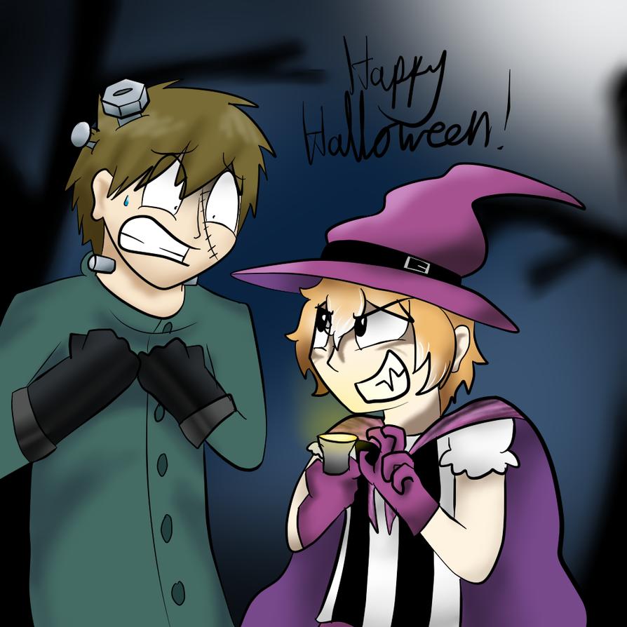Free!- Happy Halloween! by ProfessorLucario9