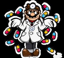 Dr. Mario's got a pill for that by ProfessorAurabolt