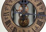 Antique Steampunk Clock -4- by LeafsStock