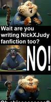 Chief bogo writes fan fiction
