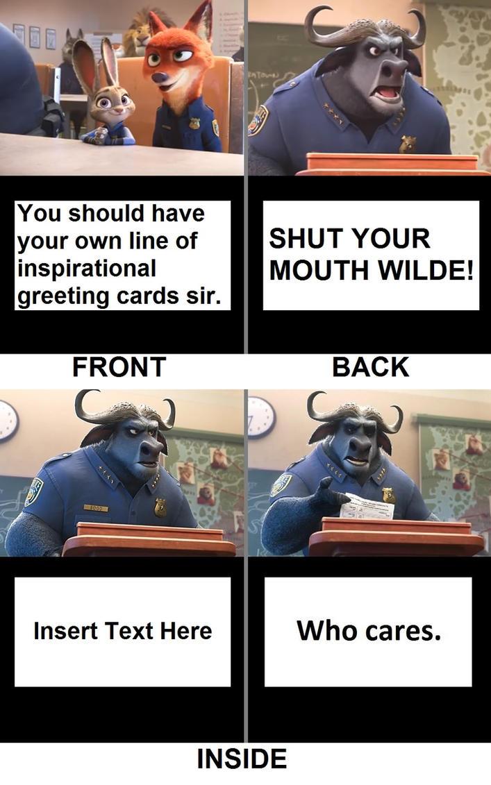 Chief bogo inspirational greeting card frontback by mattx125 on chief bogo inspirational greeting card frontback by mattx125 kristyandbryce Image collections