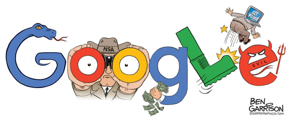 Google art by Ben Garrison