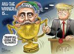 Winner of Trump's Top 11 Fake News Awards