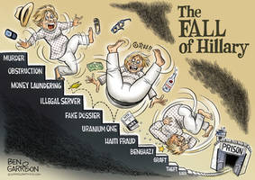 The Fall of Hillary Clinton by MattX125