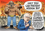 Ben Garrison: California burning