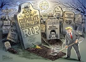 The Death Of American Journalism by Ben Garrison