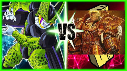 Perfect Cell VS God Emperor Trump by MattX125