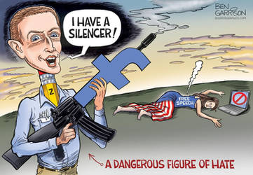 FaceBook Censorship Part 2 by Ben Garrison by MattX125