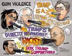 Gum Violence by Ben Garrison