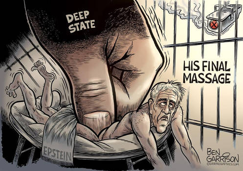 Epstein Rubbed Out by Ben Garrison