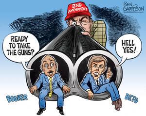 The Gun Grabbers by Ben Garrison
