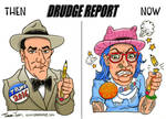 Drudge Report Evolution - Tina Toons