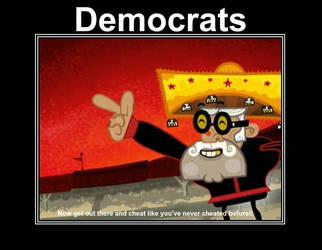 Democrats on voting