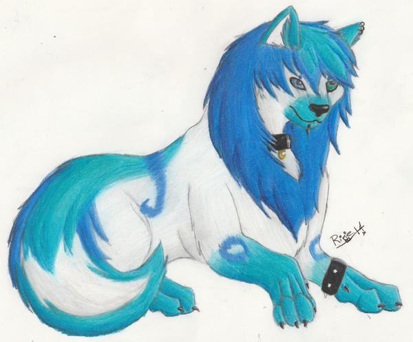 [OC] Iyce the Floofy Woofy by RixieTheVamprycan