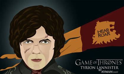Tyrion Lannister by 4ymanSmSm