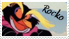 Rocko the Rock hopper stamp by Jakuz-Stampz