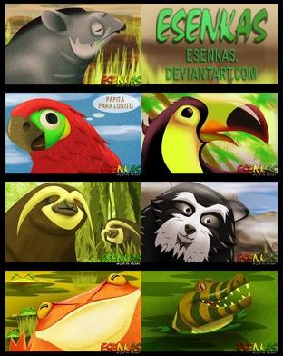 Colash Animalitos by Esenkas