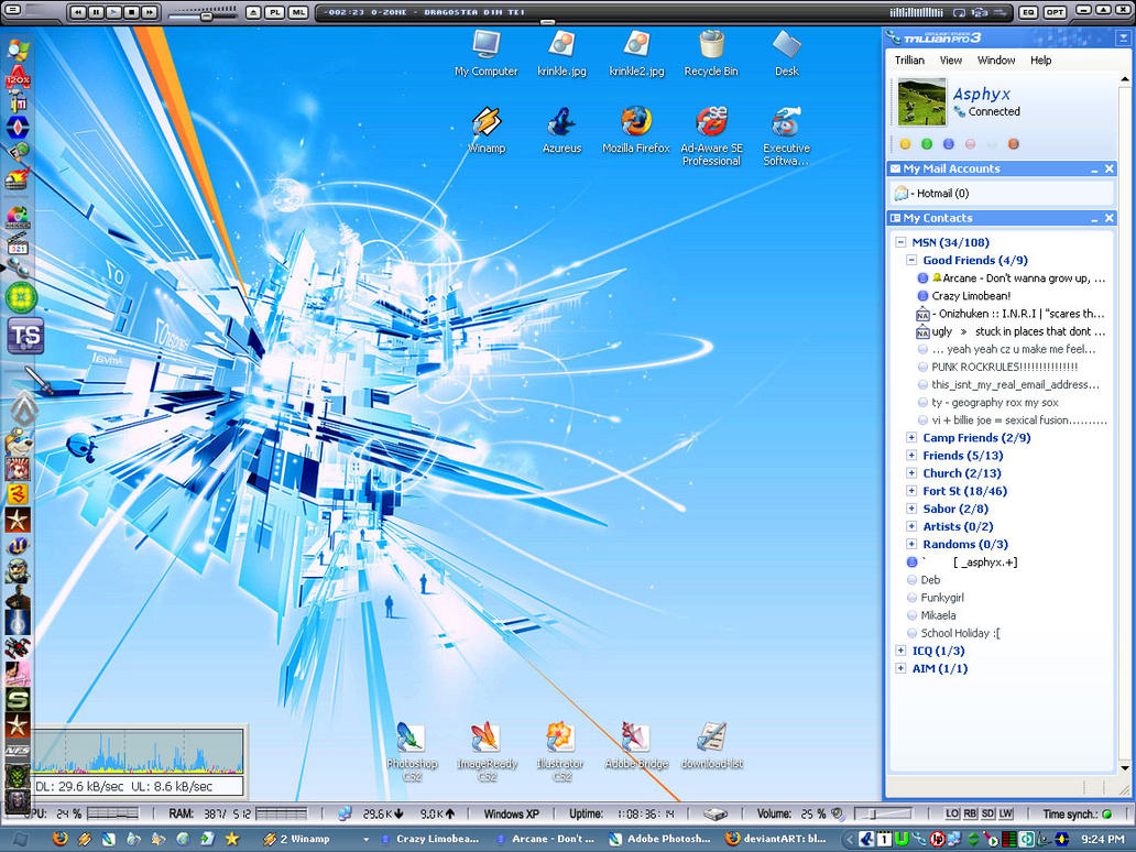 Desktop 2005 by bluelance