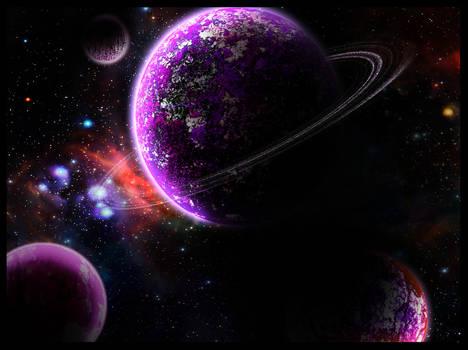 Purple planets
