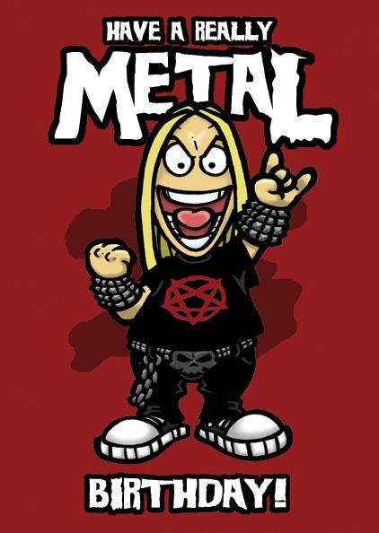 Metal поздравления