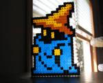 8 Bit Black Mage w PixelBlocks