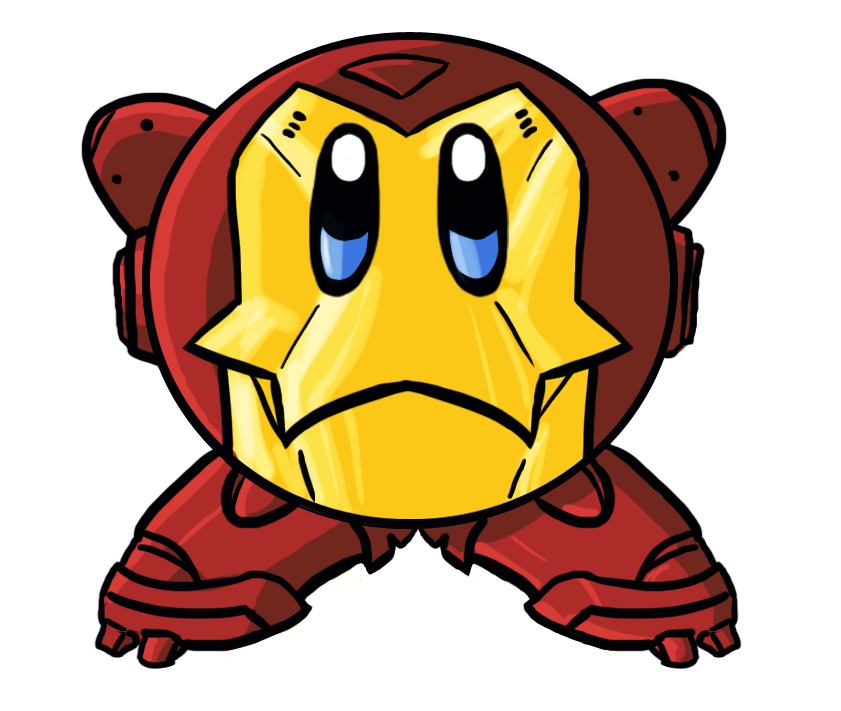 Kirby Iron Man by DrakeLake on DeviantArt