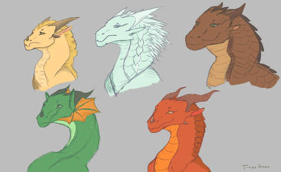 Wof sketches by T-rexRoar