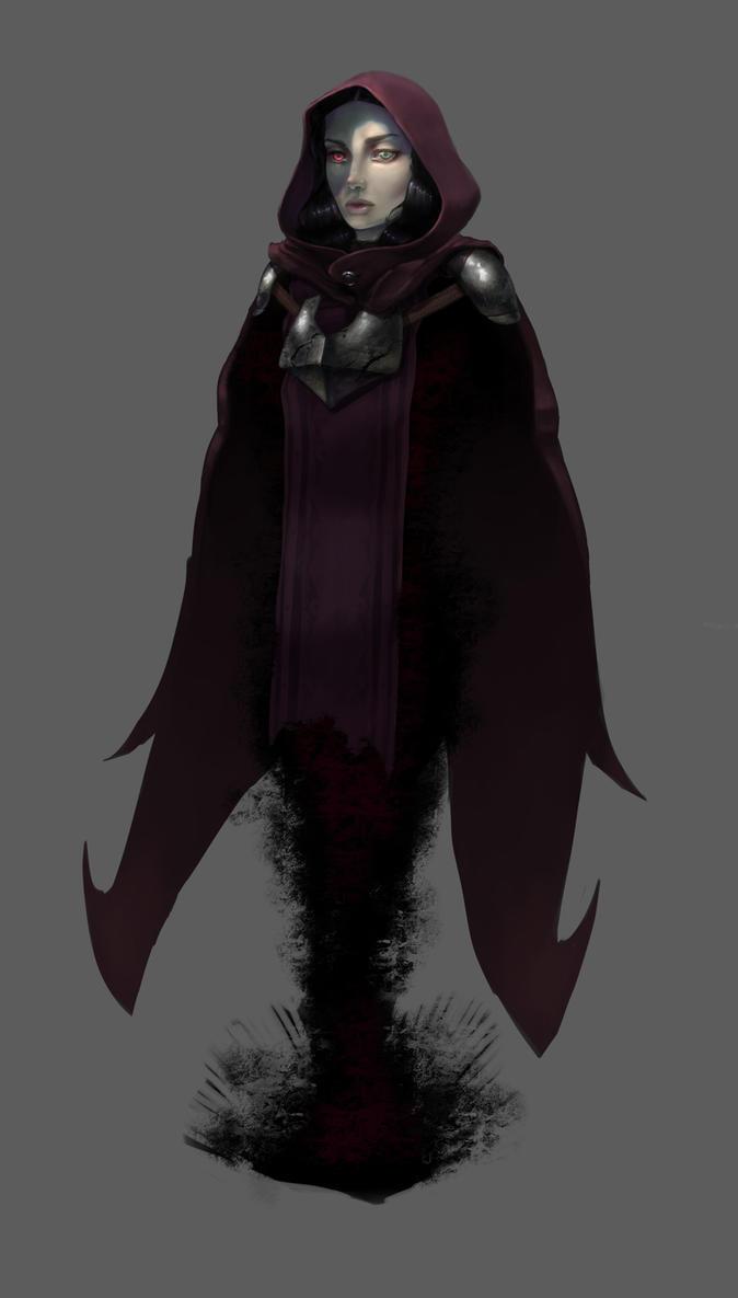 Character Design Challenge Vampire : Vampire for the monthly character design challenge by hiko