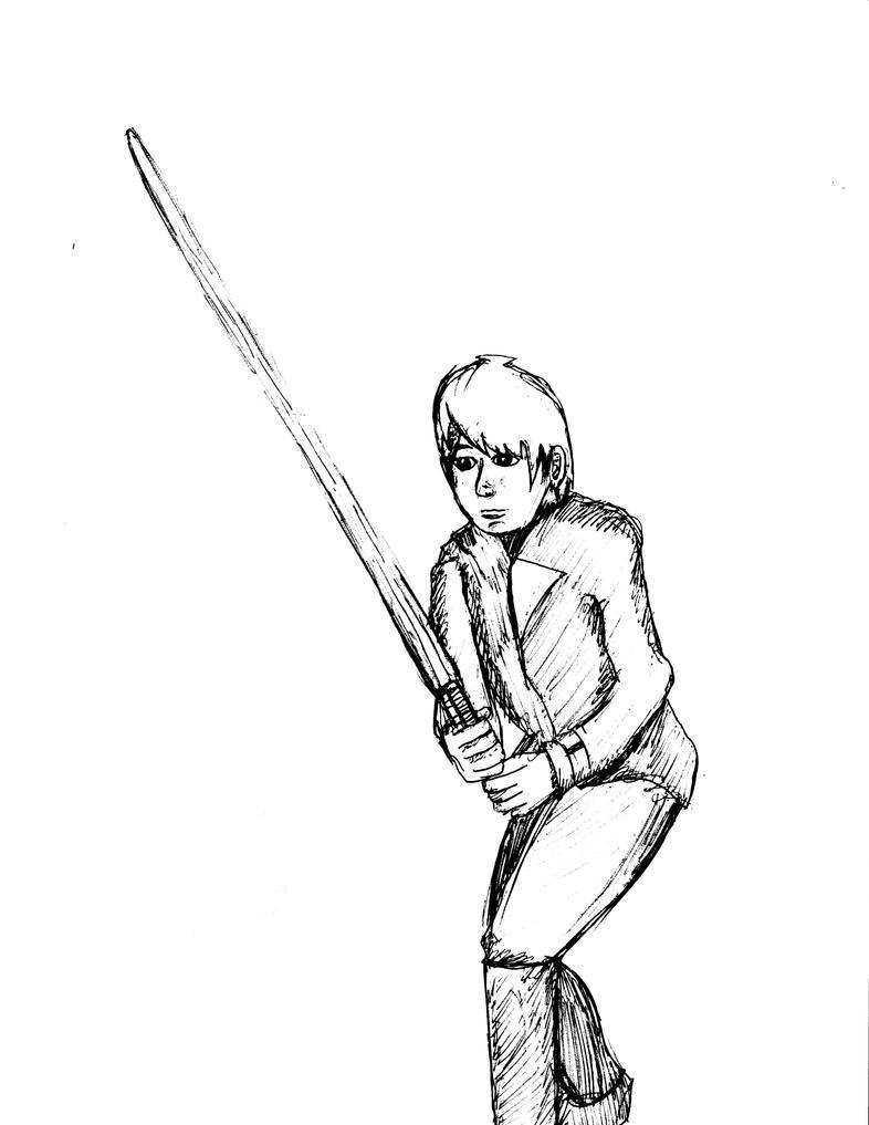 Anime Luke Skywalker ROTJ by KenjiArtWorks on DeviantArt