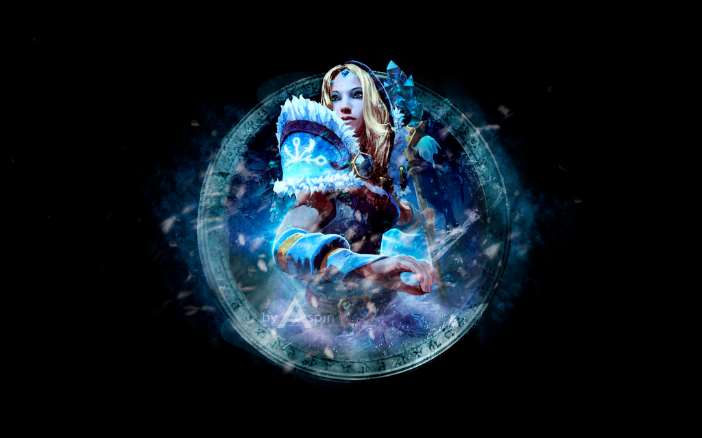 Dota 2 Wallpaper - Crystal Maiden by AspinLulDota Wallpaper Crystal Maiden