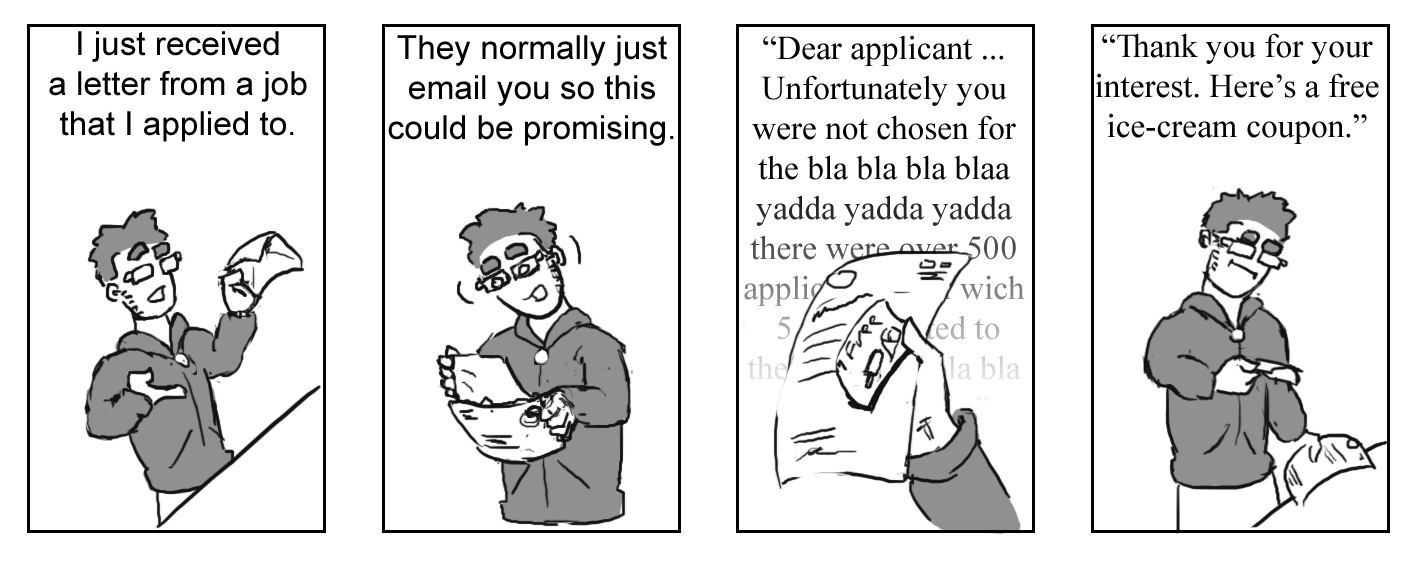 Cartoon Characters 8 Letters : Slice of life 8: a letter from potential employer by ruostevaara on