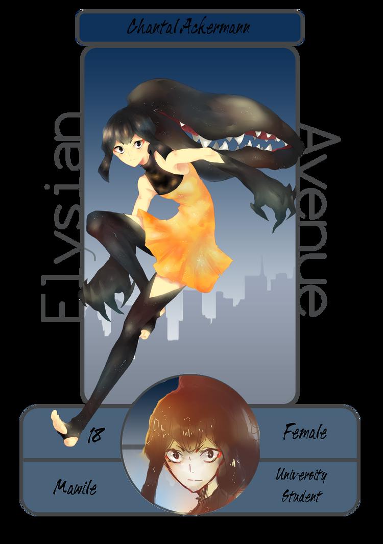 EA: Chantal by kateheichou